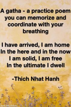 Thich Nhat Hanh, Buddhism, Zen, Poems, How To Memorize Things, Cottage, Content, Quotes, Quotations