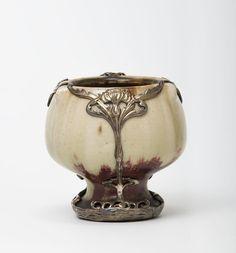 Becher mit Silberfassung | Marcel Bing and Pierre Adrien Dalpayrat | c.1898 | Museum Für Kunst Und Gewerbe Hamburg | CC0