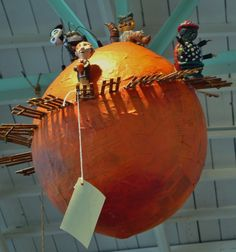 James & the Giant Peach pinata