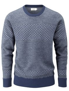 howies - Nordic Jumper - knitwear - Mens Clothing - mens