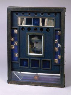 Joseph Cornell: Navigating the Imagination: Untitled (Penny Arcade Portrait of Lauren Bacall), ca. 1945–46