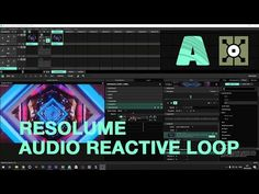 Audio Reactive Timeline - синхронизируем видео с музыкой в Resolume и Touchdesigner - YouTube Desktop Screenshot, Audio, Youtube, Psychics, Youtubers, Youtube Movies