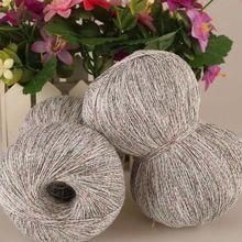 250g/Lot Linen Cotton Knitting Lace Crochet Yarn Luxury Silk Light Summer Yarn Dresses Hand Kint filati di cotone per uncinetto(China (Mainland))