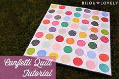 Confetti Quilt Free Tutorial.