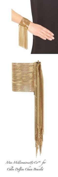 Chloe Delfine Chain Bracelet