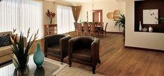 I really like this wood floor. It's the perfect color for my house. I wonder what kind of wood it is.