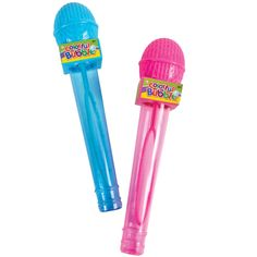 Bubble Microphones for Rock Star Party @Laci Jones Buga