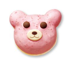Angel Teddy Strawberry Donut
