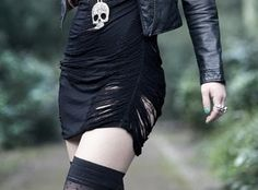 Awesome skull dress