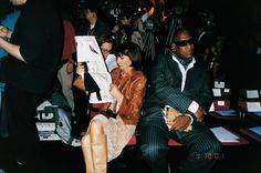 Anna Wintour, Andre Leon Talley. #sometimesitwasbetterbefore