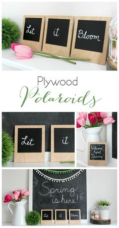 Use chalkboard paint