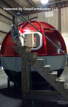 Tsunami Pods Deep Earth Bunker | Where Will You Go? Survival Shelter, Survival Prepping, Emergency Preparedness, Survival Gear, Underground Shelter, Underground Homes, Run To The Hills, Safe Haven, Cool Bicycles