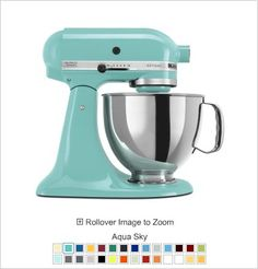 the mixer will bring in hints of teal which is a nice addition to the yellow