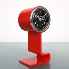 Jerger 1970s space age pedestal clock on eBay