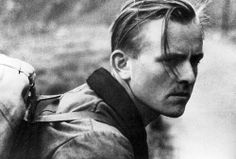 Willi Graf (1918-1943). White Rose member Willi Graf, a quiet, dignified, intelligent man, who (despite looking like the perfect 'Aryan' ideal) disapproved strongly of the Nazi regime – this didn't stop him being conscripted into the army as a medic in 1940, after which he saw for himself the horrors of the Warsaw Ghetto and was even decorated for his actions as 'an intrepid medic who never thought about his own safety'. He was arrested in Feb 1943. I am actually related to this guy.