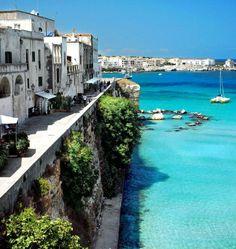 Otranto, in the south east of #Puglia