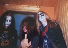 Euronymous, Necrobutcher & Dead  - Mayhem