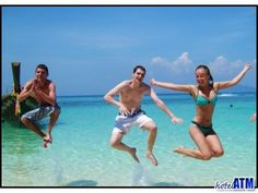 How happy? Day Trip to Phi Phi island. Phi Phi Island, Krabi, Speed Boats, Day Trip, Travel Guides, Tours, Happy, Fast Boats, Ser Feliz