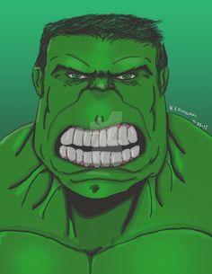 #Hulk #Fan #Art. (The Big Green Monster) By:Wkillingsworth. ÅWESOMENESS!!!™ ÅÅÅ+