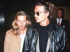 Leather jackets and girls club• #johnnydepp#katemoss#couple#goals#body#language#lol#90s#80s#coming#back#fashion#design#tumblr#actor#film#redcarpet#shoot#top#model#followme#or#not#old#picture#mode#paris#usa#love#goldwasold