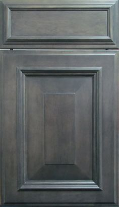 Image result for grey stained oak cabinets