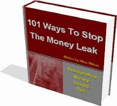 101 Ways To Stop The Money Leaks. Loss Waste Saving Tips Prosperity ebook