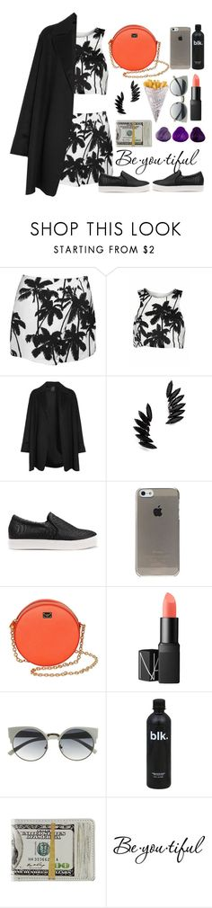 """👣"" by burcaak ❤ liked on Polyvore featuring Agnona, Shay, Dolce&Gabbana, NARS Cosmetics, Schone and cool"