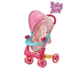 Baby Alive Stroller For Baby Dolls Up To 16 Inch #BabyAlive