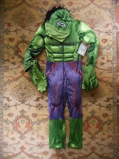 Bnwt the #disney store #deluxe avengers hulk #costume size / age 7 - 8 rrp £35.9,  View more on the LINK: http://www.zeppy.io/product/gb/2/371854021711/