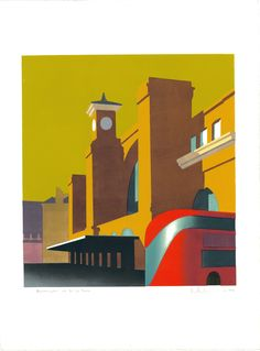Paul Catherall | Routemaster at Kings Cross