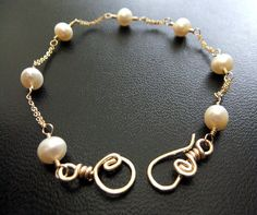 White Ivory Freshwater Pearl Bracelet Bridal Set Triple Freshwater Pearl 14K Goldfilled Figure-8 Chain Simple Elegance on Etsy, $44.00 Simple Elegance, Elegant, Freshwater Pearl Bracelet, Double Chain, June Birth Stone, Bridal Sets, Sterling Silver Chains, Handcrafted Jewelry, Fresh Water