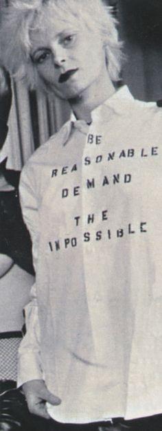 Vivienne Westwood (Love this shirt! <3)