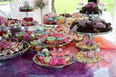 pink & purple Pink Purple, Catering, Villa, Eat, Desserts, Food, Tailgate Desserts, Deserts, Catering Business