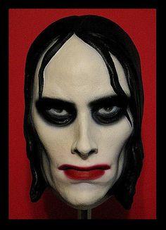 """""""Vampire Girl"""" mask c. 1960's"""