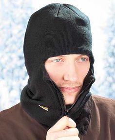 Fleece-Lined Zipper Face Masks