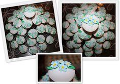 Vergeet-me-niet cupcakes