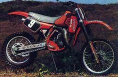 Cagiva WMX FACTORY 125 CC. 1985