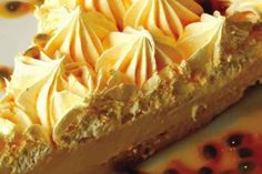 Torta de Lliquidificador de Iogurte e Maracujá