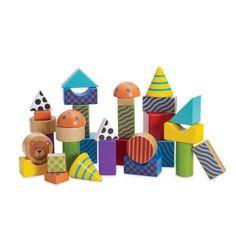 Manhattan Toys Create and Play Pattern Blocks 32 pcs 1+