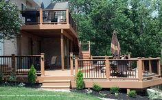 Two story deck of my dreams