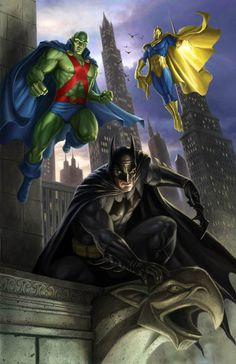 BATMAN // MARTIAN MANHUNTER // DR. FATE: Dan Scott Could Martian Manhunter & Dr. Fate replace Superman & Wonderwoman?