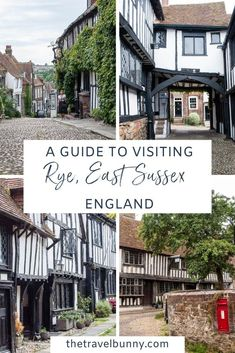 A guide to visiting Rye in East Sussex, England. What to see and do in Rye, East Sussex, with tips on the best things to see, do, eat and drink and where to stay for a perfect weekend break to Rye, East Sussex #Rye #EastSussex #England #weekendbreak Scotland Travel Guide, Travel Tips For Europe, Europe Destinations, Dublin Travel, Ireland Travel, London Architecture, Uk Holidays, Weekend Breaks, East Sussex