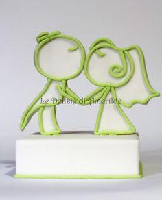 Cake Topper & Confetti | Le Delizie di Amerilde, Party & Cake Design