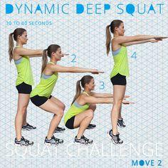 Squat Challenge: 5 Killer Moves for Toned Thighs