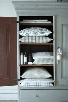 storage for bedding, pillows, duvets,blankets.  Pump up bed.  Towels, toilet rolls, cleaning products.  Throws, cushions.  Outdoor cushions.  Shoes.
