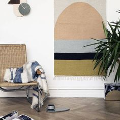 Find the Kelim Rug Collection including traditional and modern carpets mde by ferm Living, available in the home design shop. Small Living Rooms, Living Room Designs, Living Room Decor, Ideas Hogar, Style Deco, Circle Rug, Contemporary Area Rugs, Carpet Design, Geometric Rug
