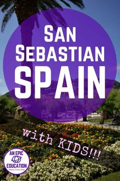 There are so many fun things to do in San Sebastian with kids...or on your own. This charming town in northern Spain has a lot to offer: beaches, museums & some of the best food in Spain. Read how to enjoy San Sebastian with kids (or without!) | San Sebastian surfing | Monte Igueldo Amusement Park | San Sebastian Museums | Spanish food | Basque culture | Basque food | Spanish tapas | Pinxos | Spain travel tips | San Sebastian Spain Beaches | San Sebastian Spain Food | San Sebastian Hotels