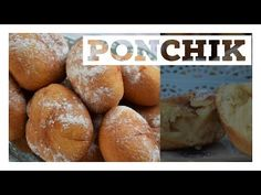 (5) Ponchik, Dough With Cream Filling - YouTube