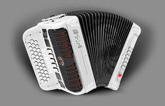 Hohner White Hawk Accordion