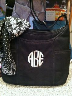 Free To Be Carry All in Black textured stripe.  New Thirty-One for Fall 2013